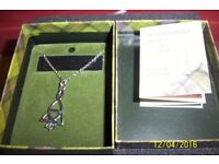 Scottish vintage necklace in original box with card etc