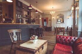 Full-Time Bar and Floor Staff Wanted