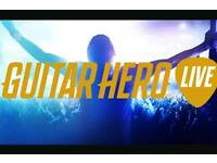 Ps4 guitar hero live with guitar