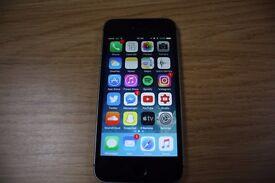 iPhone SE 64GB EE - Space Grey (Black) - Excellent Condition