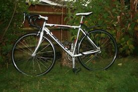 Merida Road Bike full alloy frame integral gears on brakes
