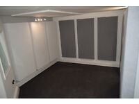 West London Recording Studios to Let with vocal booth