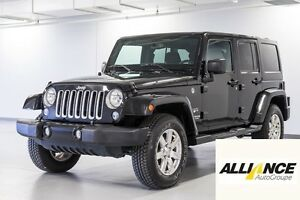 2016 Jeep WRANGLER UNLIMITED SAHARA 4 PNEUS D'HIVER INCLUS