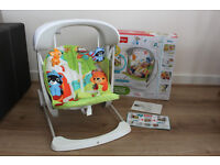 Fisher-Price Woodland Friends Take-Along Swing&Seat