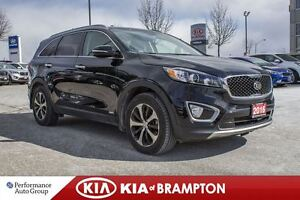 2016 Kia Sorento EX TURBO|LEATHER|ALLOYS|BLUETOOTH|KEYLESS