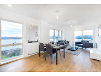 Two bedroom, two bathroom Docklands E16 flat for Sale with fantastic riverside views