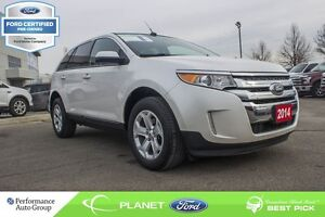 2014 Ford Edge SEL FORD CERTIFIED LOW RATES & EXTRA WARRANTY! -