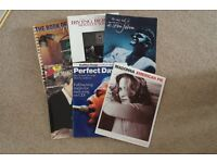 Several Song Books for Piano