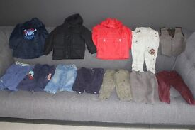 Large Bundle of Boys Clothes Age 1 1/2 - 2 Years - BUNDLE 2