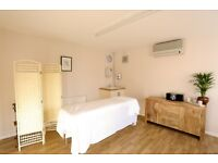 Bright therapy rooms for rent in lovely calm space in Hertford
