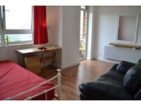 Nice and Huge Double Room with Private Balcony -Zone 2-Greenwich