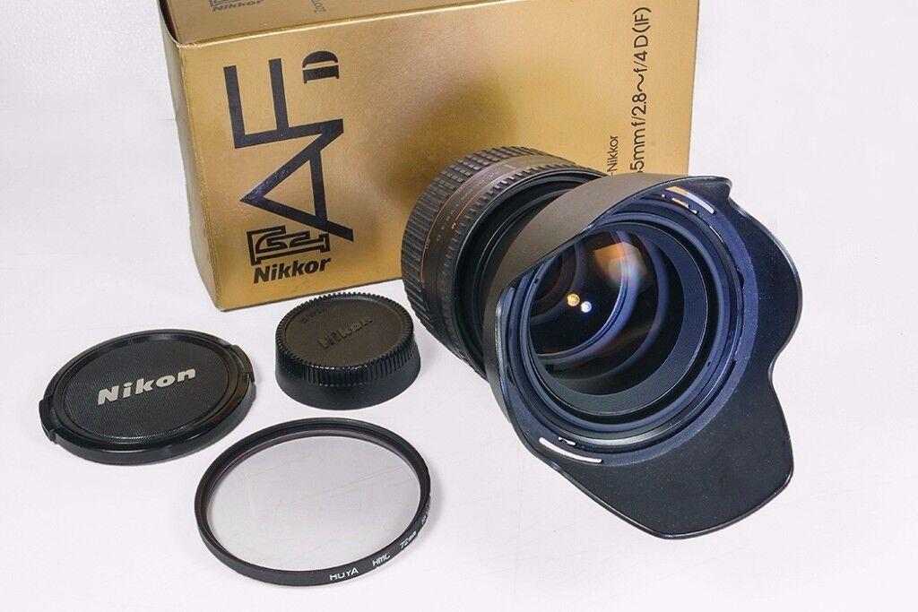 Nikon 24-85mm f2.8 - f4 D (IF) AF Zoom-Nikkor lens