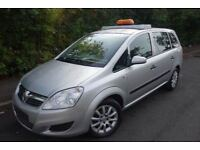2008 VAUXHALL ZAFIRA, 1.9 CDTI, LOW MILEAGE, ONLY 62,000 MILES, 1 OWNER FROM NEW, FSH, HPI CLEAR