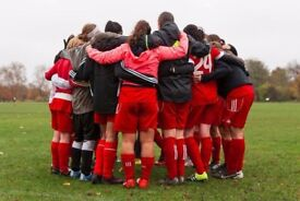 SOUTH LONDON WOMENS FOOTBALL CLUB - NEW PLAYERS WANTED ladies international female soccer team trial