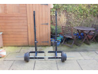 Weights - 60kg barbell & squat stands