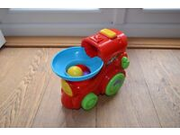 Roll and Pop Train Toy