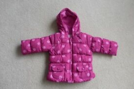 Girls Coat Cheroke 9-12 months