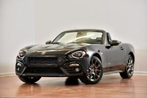 2017 Fiat 124 Spider Abarth LUXURY CUIR NAV BREMBO