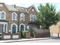 Three double bedroom flat with two bathrooms and a private garden, suit sharers