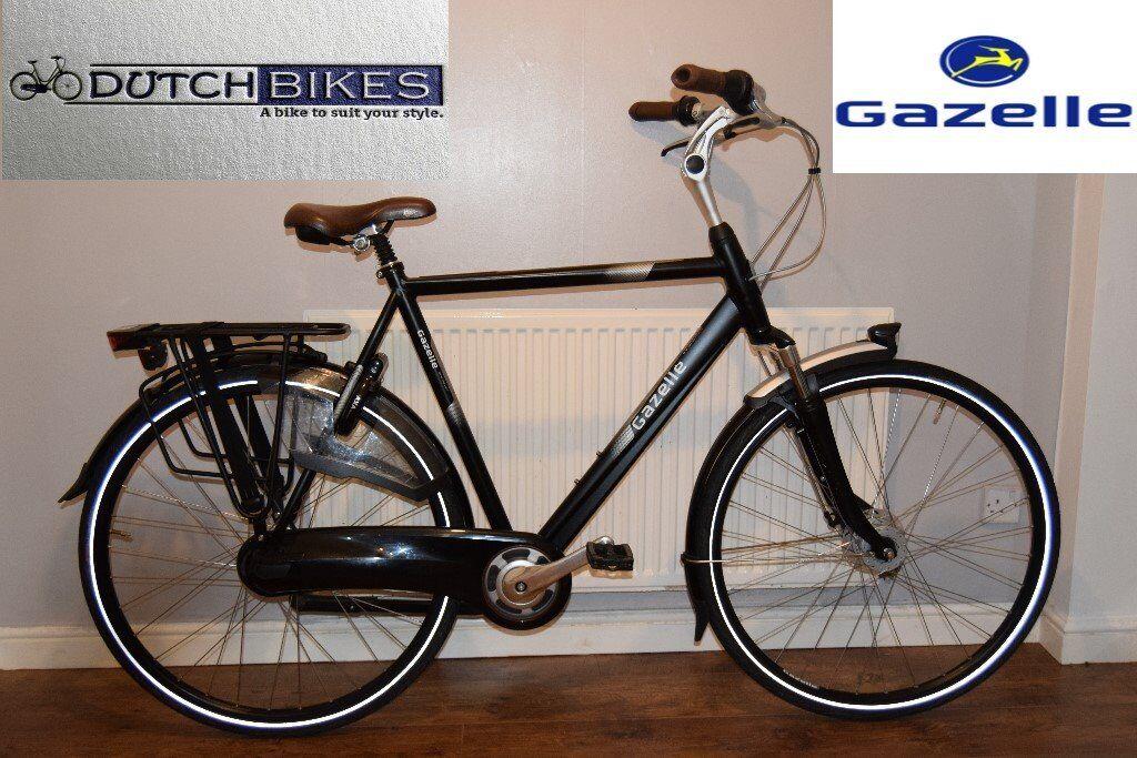 Dutch Bike Gazelle Orange C7 Plus Nexus 7 Gears City Town