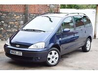 FORD GALAXY GHIA 2.3 PETROL 143bhp VERY HIGH SPEC,FULL SERVICE HISTORY,1 OWNER,PARKING AID.