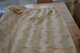 Two pairs of Laura Ashley curtains in vgc