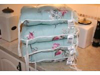 Set of 4 Dunelm Shabby Chic Chair Cushions (Dining/Kitchen)