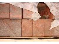 Woodside Red Mixture Textured Faceing Brick only £125 per pack