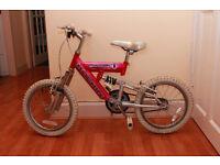 Girl's bike - 12 inch wheels, good condition