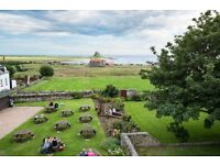 Live in General Assistants wanted On The Holy island of Lindisfarne