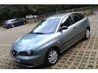 LEFT HAND DRIVE 2003 Seat Ibiza 1.9SD Diesel 5 Door, Ideal For Those European Trips, Long MOT, S/H