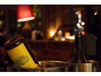 Food loving waiter for East London independent gastropub/restaurant