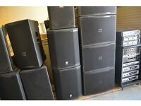 Full JBL Crown Pioneer PA System 18mths old Club Nightclub EXCELLENT Condition - Prof installed