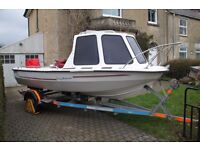 16' 'TATE LANCER' FISHING/LEISURE BOAT.