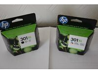 Genuine HP 301 Printer Cartridges