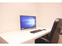 "LG 27"" 4K Monitor & Intel NUC 6i5YSK Full Set Mint condition Powerful Mini Desktop PC"