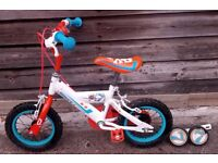Children's Bicycle, Age 3 -5 'Dusty'from Disney Planes