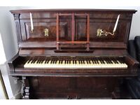 piano 100 years old needs tuning NEEDS TO BE TAKEN ASAP