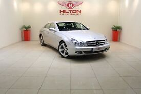Mercedes-Benz CLS 3.0 CLS350d CDI 7G-Tronic 4dr (silver) 2009