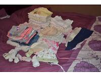Bundle 0-3 months girls clothes