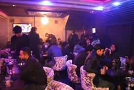 Shisha Lounge Coffee/Dessert Shop Business For Sale - Rusholme Main Road - Curry Mile Wilmslow Road