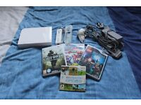 Great condition Nintendo Wii console with games