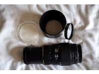 Sigma 70-300mm Zoom Macro lens (Canon Mount)