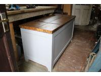 Handmade blanket box / storage chest