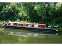 Narrow Boat Springer Built Circa 1980