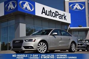 2013 Audi A4 2.0T/BLUETOOTH/LEATHER/CRUISE