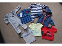 Small bundle of Baby Boy clothing 0-3 months