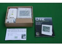 Owl Wireless Energy Monitor in original packaging.
