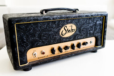 Suhr Badger 18 Tube Guitar Head Custom Western Black Tolex, used for sale  London