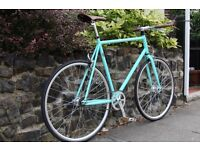 NEW IN!! !!! Steel Frame Single speed road bike fixed gear racing fixie bicycle HUKO0